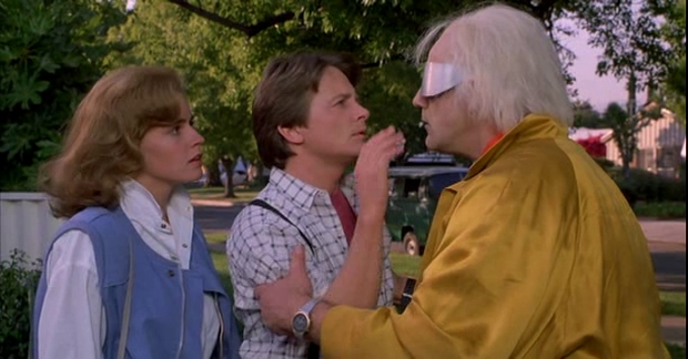 """Back to the Future - """"What happens to us in the future?"""""""