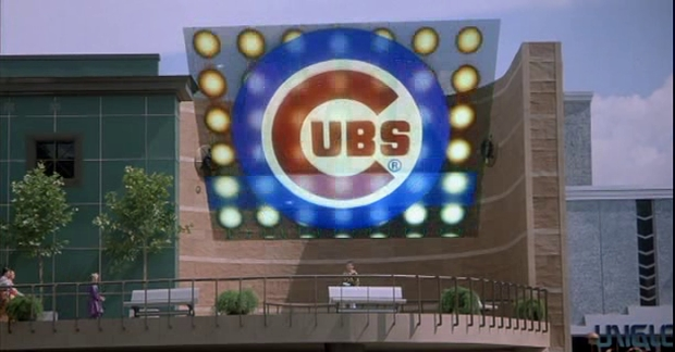 Back to the Future - Cubs Win World Series