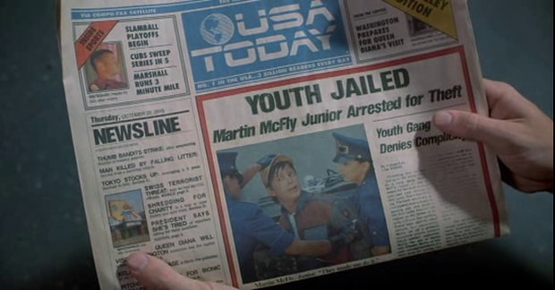 Back to the Future - USA Today