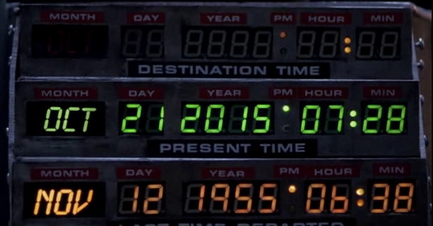Back to the Future - The Clue