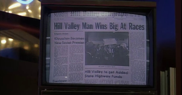 Back to the Future - Hill Valley Telegraph