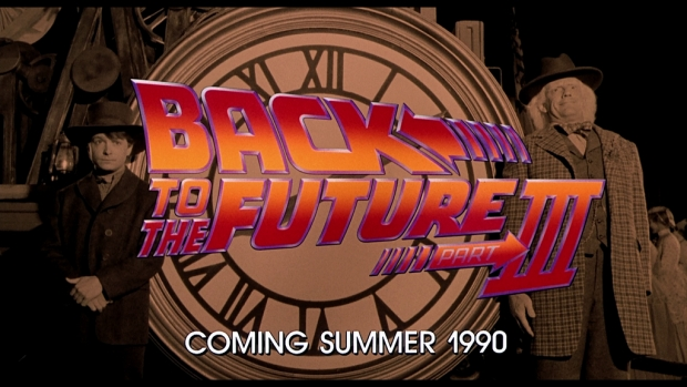 Back to the Future - Coming Summer 1990