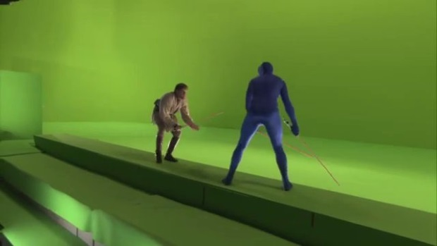 Why Rear Projection Was The Original Greenscreen Den Of Geek