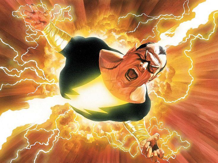 آدم الأسود في DC Shazam Comics