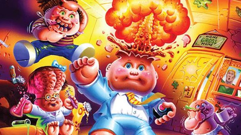 Garbage Pail Kids, Welcome to Smellville, R.L. Stine, Abrams Books