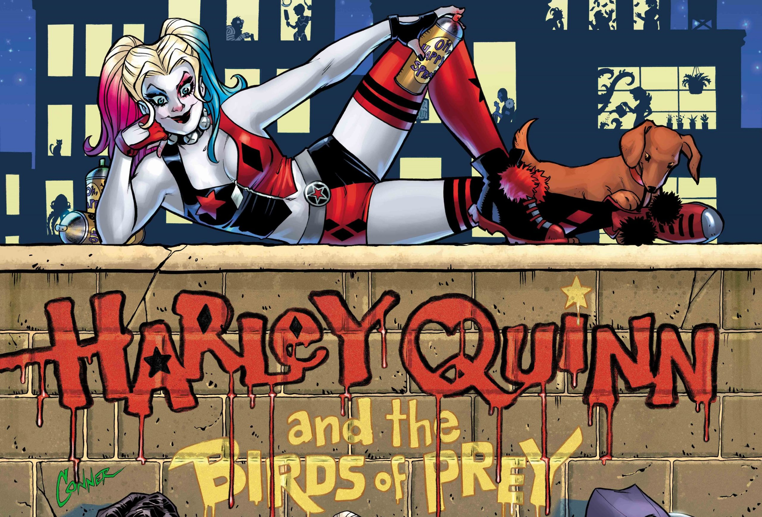 Harley Quinn And The Birds Of Prey Indulges Character S R Rated Dreams Den Of Geek