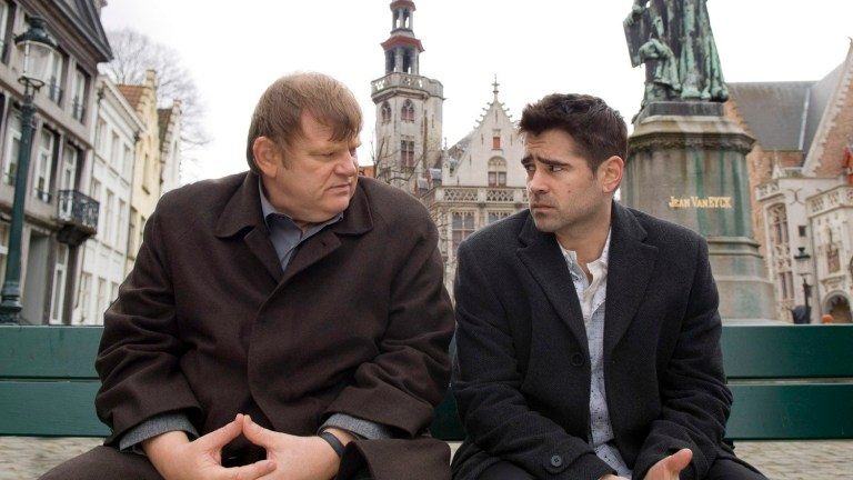 Brendan Gleeson and Colin Farrell in 2008's In Bruges