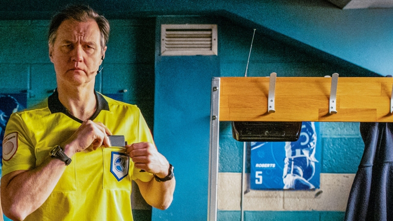 David Morrissey in Inside No. 9 series 5 episode 1 The Referee's A W***er