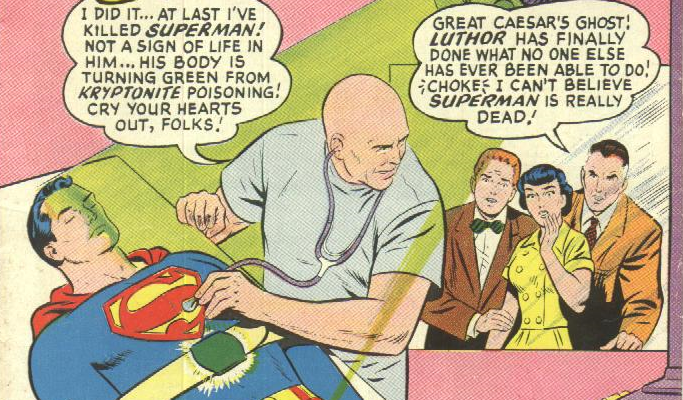 Lex Luthor the Scientist in Action Comics #23