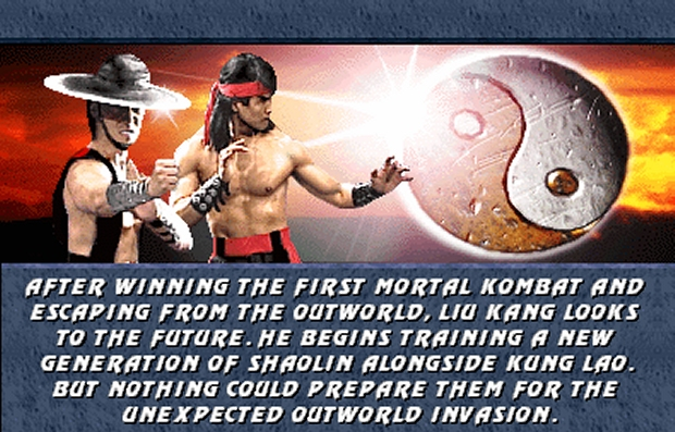 Cronologia de Mortal Kombat: história explicada [Timeline] 10