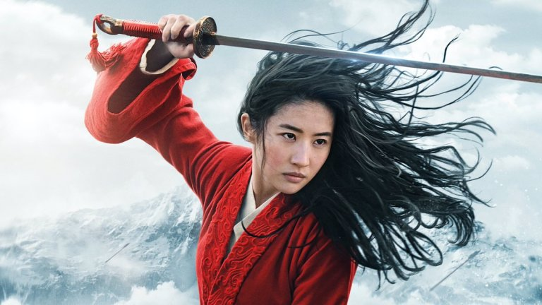 Yifei Liu as Mulan in the Poster for the Disney Live-Action Film