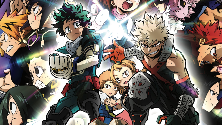 My Hero Academia Heroes Rising Trailer And Release Date Den Of Geek