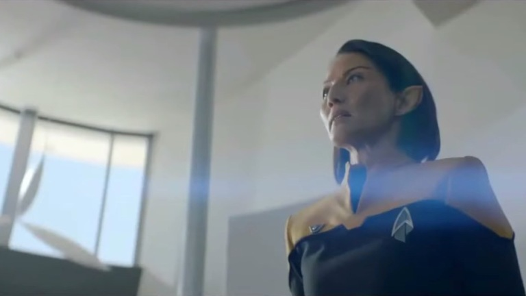 Tamlyn Tomita as Commodore Oh on Star Trek: Picard