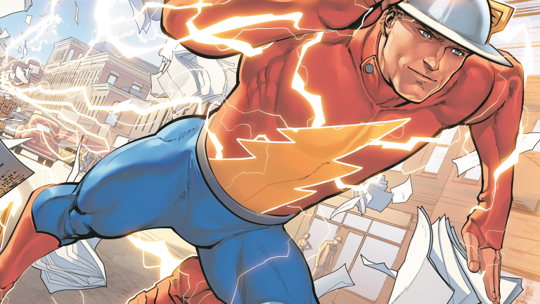The Flash #750 Jay Garrick Preview