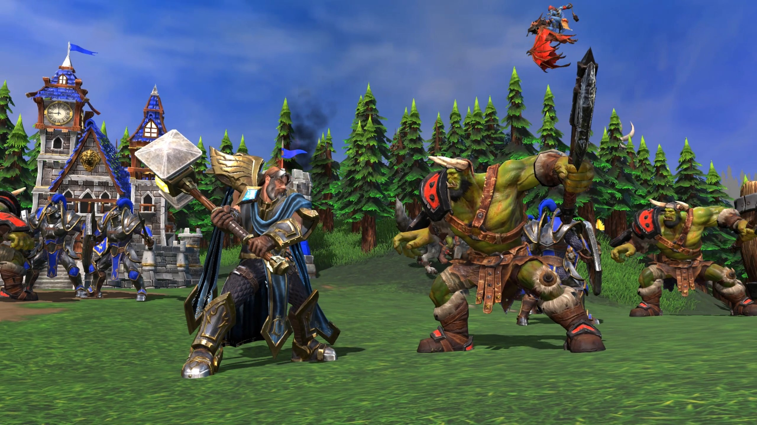 Warcraft 3 Reforged Review Blunder Fury Den Of Geek