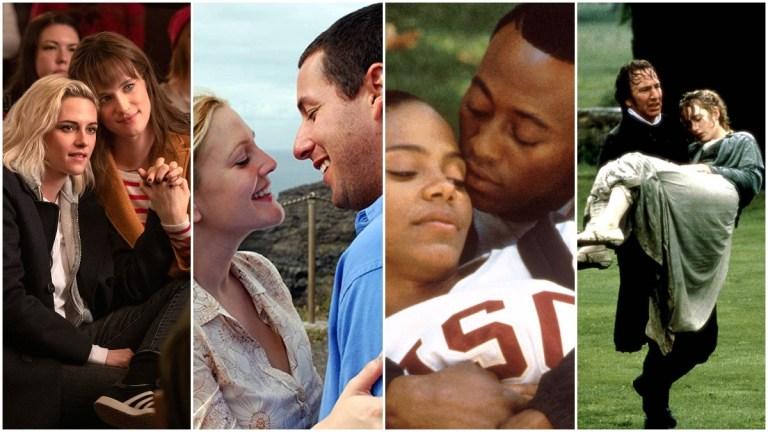 Best Romance Movies on Hulu - Happiest Season, 50 First Dates, Love and Basketball, Sense and Sensibility