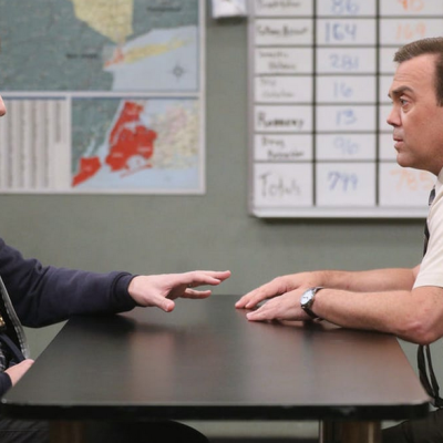 Jake and Charles in Brooklyn Nine-Nine Season 7 Episode 9
