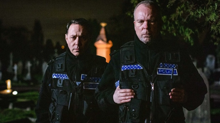 Reece Shearsmith and Steve Pemberton in Inside No. 9 series 5 episode 6 The Stakeout