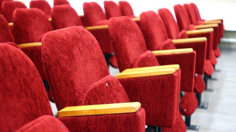 Movie Theater Box Office Empty