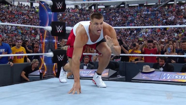 Rob Gronkowski WWE