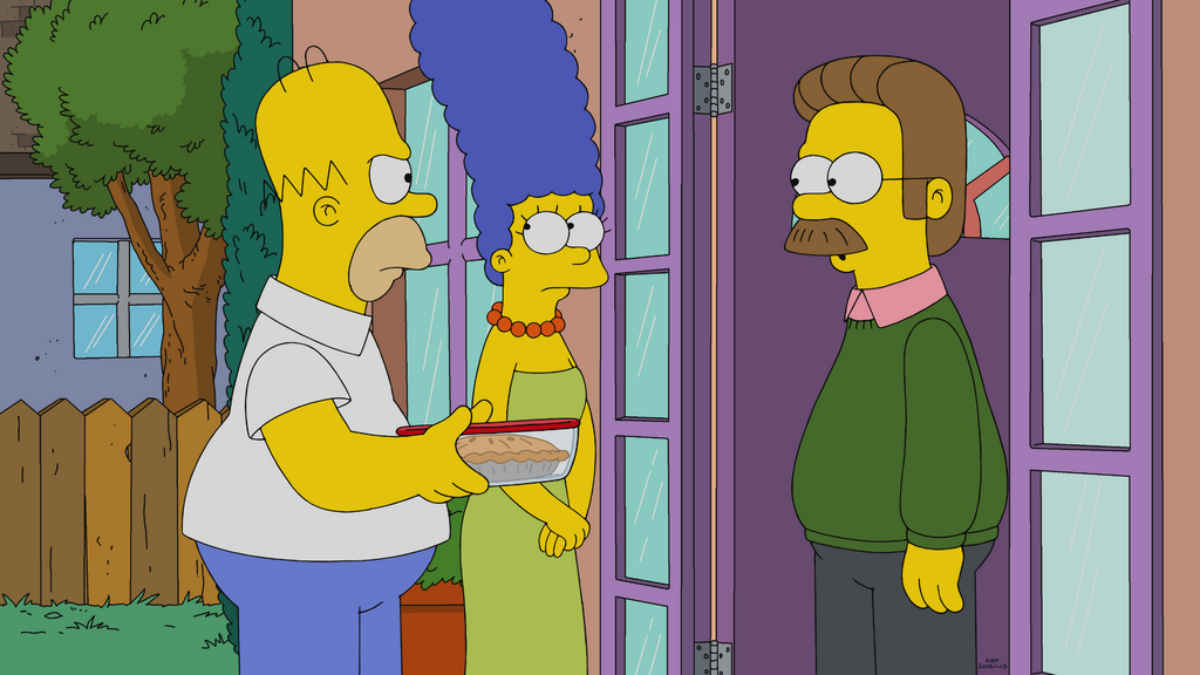 The Simpsons Season 31 Episode 16 Review Better Off Ned Den Of Geek