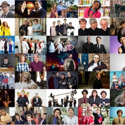 Transmisión de TV de comedia en el Reino Unido