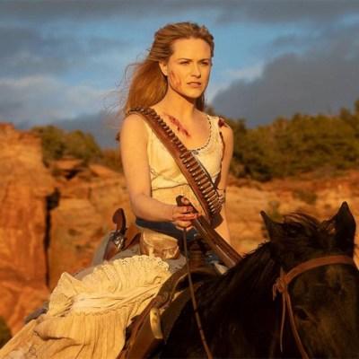 Evan Rachel Wood as Dolores in Westworld season 2