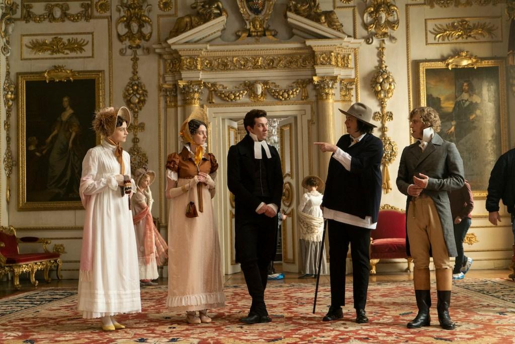 Autumn de Wilde directing Emma