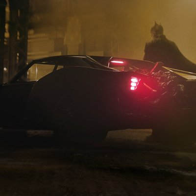 The new Batmobile in Matt Reeves' The Batman