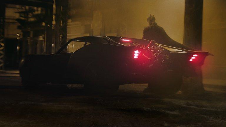The new Batmobile in Matt Reeves' The Batman