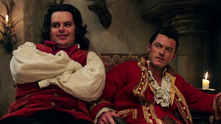 Beauty and the Beast Josh Gad and Luke Evans