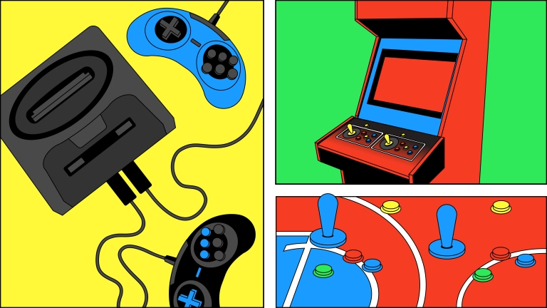 Console Wars Insert Coin