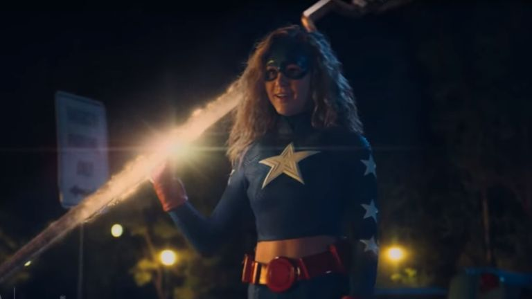 Brec Bassinger in DC Universe's Stargirl