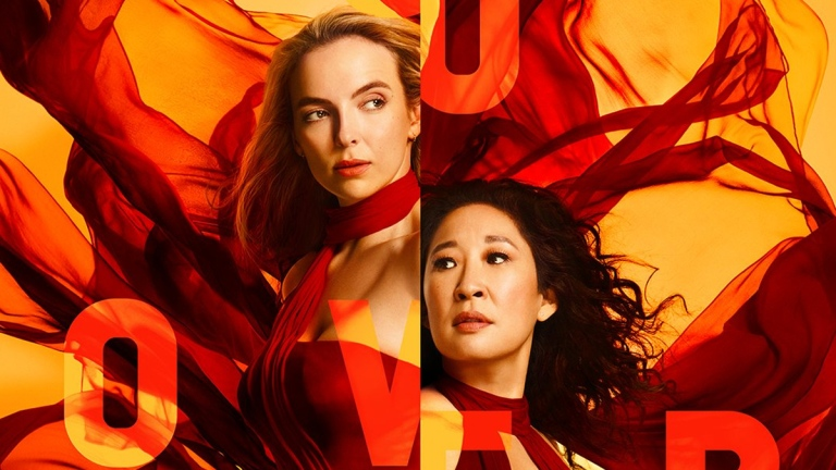 Killing Eve Season 3 poster: Jodie Comer and Sandra Oh