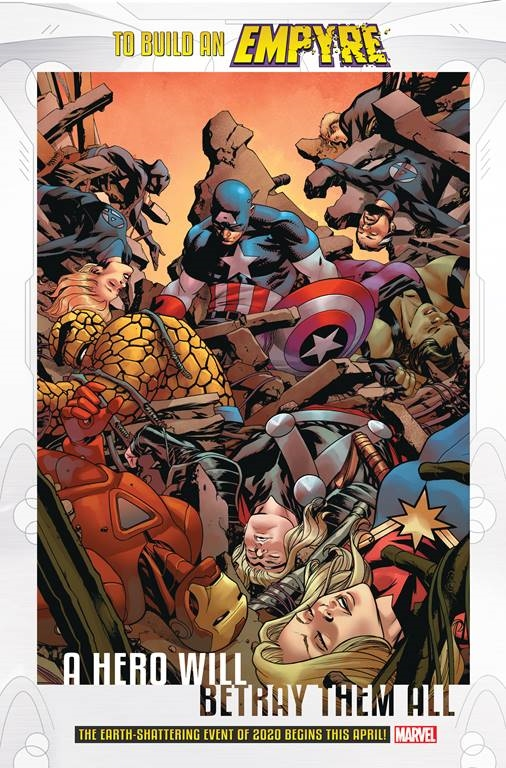 Marvel Empyre: A Hero Will Betray Them All
