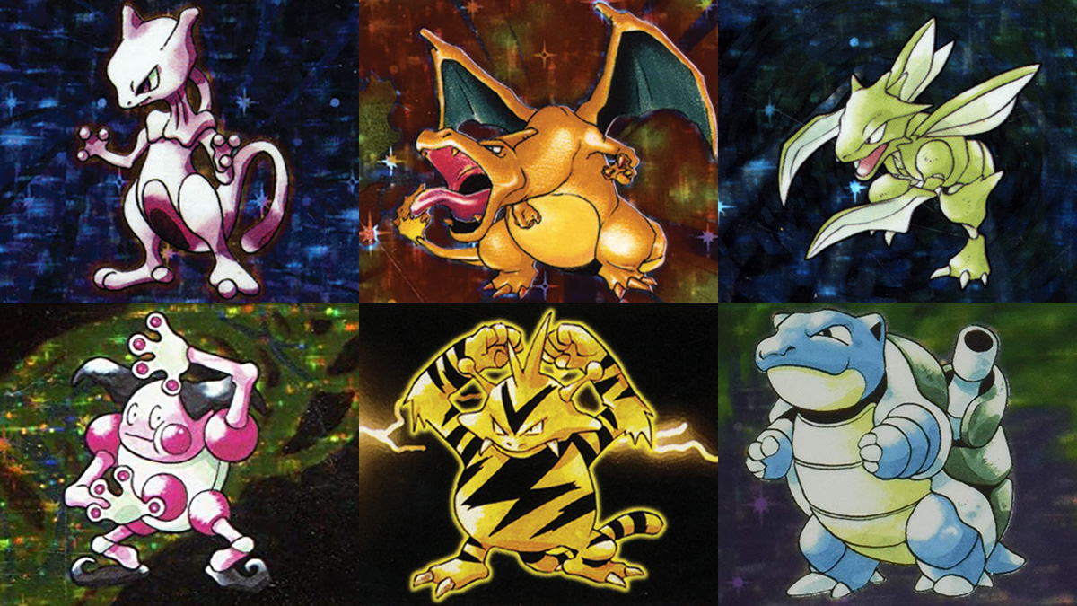The 15 Best Pokemon Cards of the First Generation