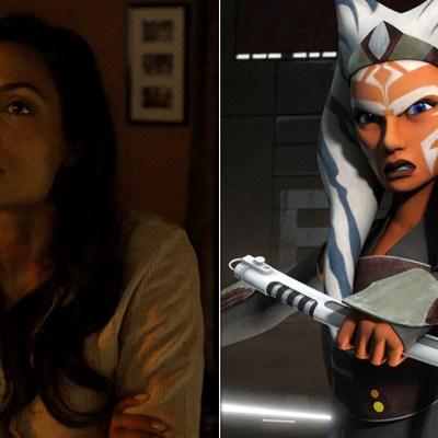 Rosario Dawson on Luke Cage, Ahsoka Tano on Star Wars Rebels
