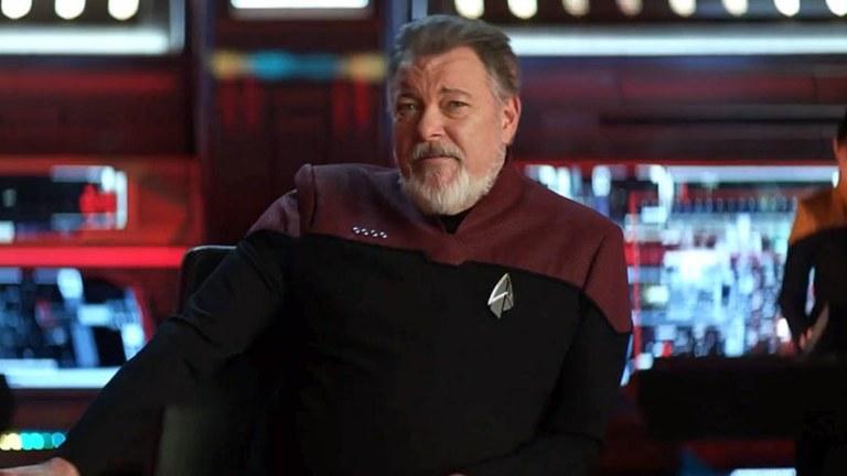 Riker on the Zheng He in the Star Trek: Picard finale