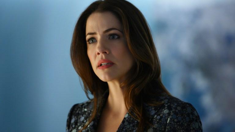 Julie Gonzalo as Andrea Rojas/Acrata in Supergirl Season 5 Episode 14