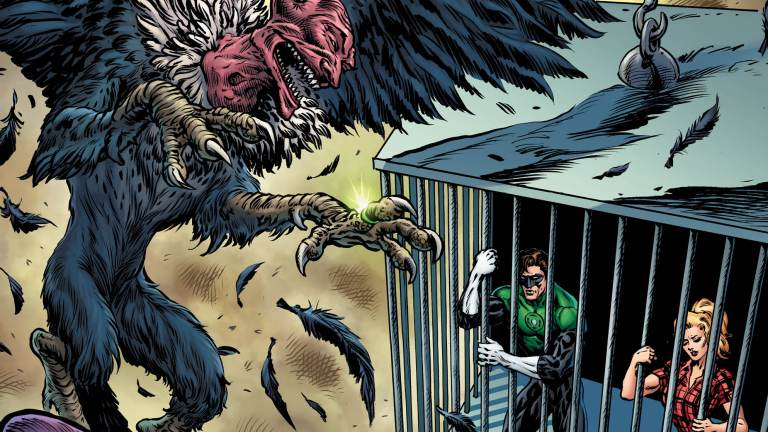 The Green Lantern #2 Cover