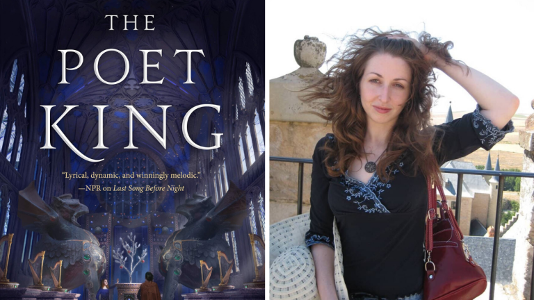 The Poet King Cover and Author Ilana C. Myer