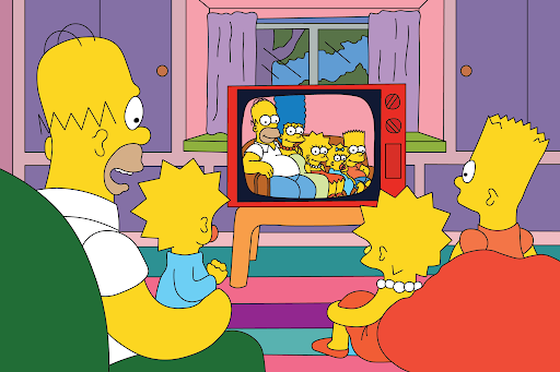 The Simpsons on Disney+ UK