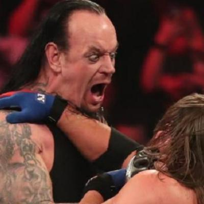 The Undertaker vs. AJ Styles at WWE Elimination Chamber 2020
