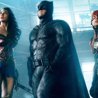 Wonder Woman, Batman, and The Flash