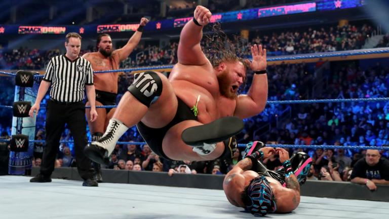 WWE Smackdown Tag Team Heavy Machinery