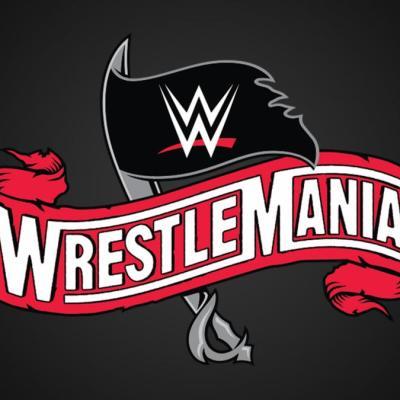 WWE WrestleMania 36 Logo 2020