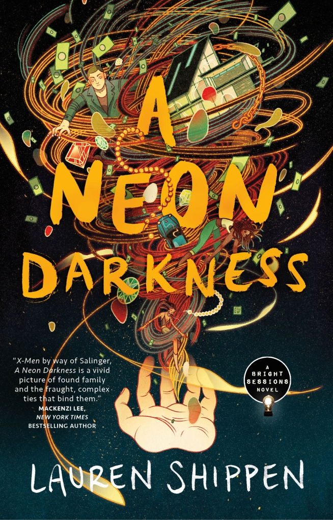 Cover for A Neon Darkness by Lauren Shippen