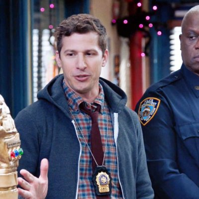 Jake and Holt in the Valloweaster Heist on Brooklyn Nine-Nine