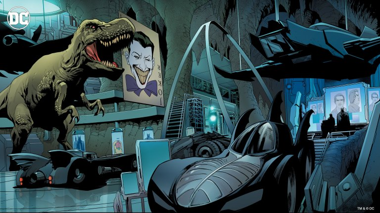DC Zoom Batcave