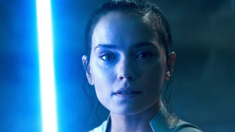 Daisy Ridley as Rey in Star Wars The Rise of Skywalker
